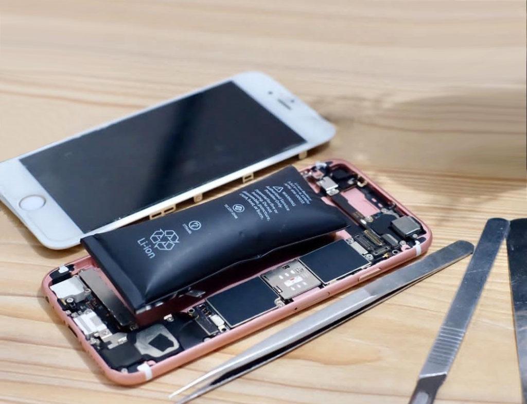Замена аккумулятора айфон 6